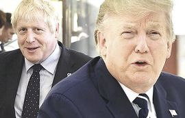 Boris Johnson e Donald Trump
