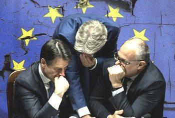 Conte, Gentiloni e Gualtieri