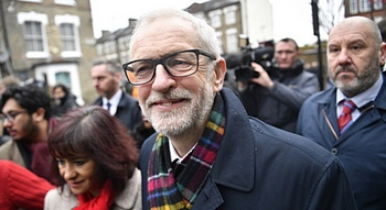 Corbyn alla vigilia del voto