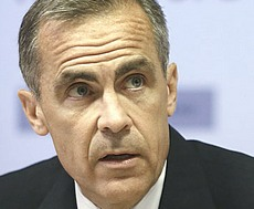 Mark Carney, Bank of England, sponsor di Greta