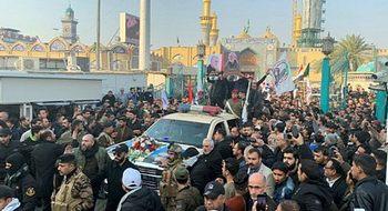 Iran, milioni in strada per Soleimani