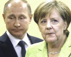 La Merkel con Putin