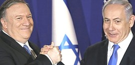 Pompeo e Netanyahu