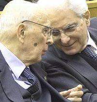 Napolitano e Mattarella