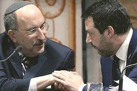 Salvini con Dore Gold a Roma