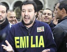 Salvini in Emilia