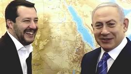Salvini si diverte con Netanyahu