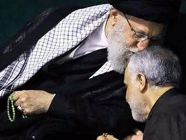 Soleimani con Khamenei