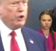 Trump e Greta