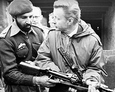 Bin Laden e Brzezinski in Afghanistan
