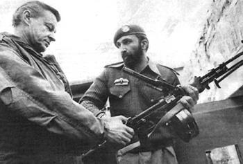 Brzezinski in Afghanistan con Osama Bin Laden