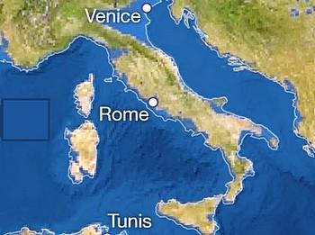 L'Italia nel 2100, secondo le stime più allarmanti