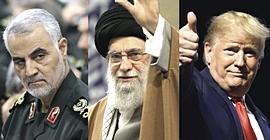 Soleimani, Khamenei e Trump