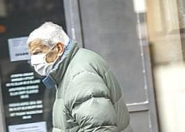 Anziani mascherina