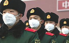 Cina, soldati