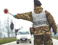 Esercito, checkpoint