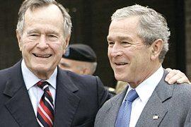 I Bush, padre e figlio