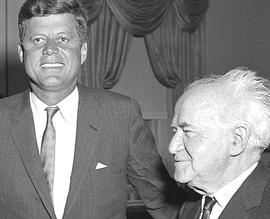Kennedy con Ben Gurion