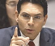L'ambasciatore israeliano Dannon