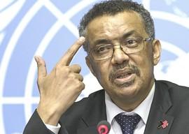 L'etiope Tedros Adhanom Ghebreyesus, direttore generale dell'Oms