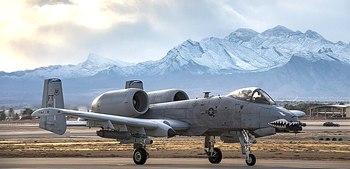 La base aera di Nellis, in Nevada