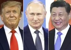 Trump, Putin e Xi Jinping