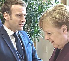 Marcron e Merkel