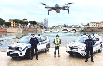 Droni in azione a Rimini