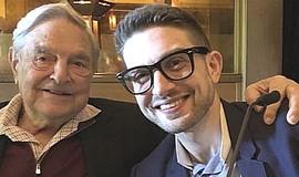George Soros con il figlio Alexander