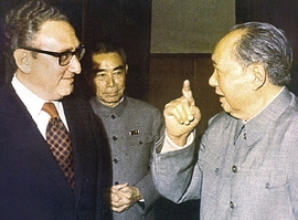 Kissinger con Mao Tse-Tung
