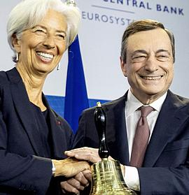 Lagarde e Draghi