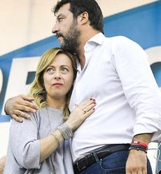 Meloni e Salvini