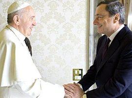 Bergoglio e Draghi