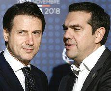 Conte e Tsipras