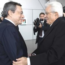 Draghi e Mattarella