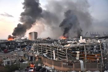 La catastrofe a Beirut