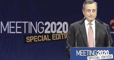Mario Draghi al Meeting di Rimini 2020