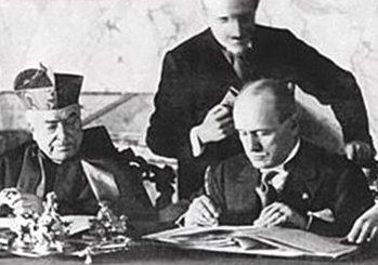 Mussolini, i Patti Lateranensi