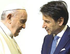 Bergoglio e Conte
