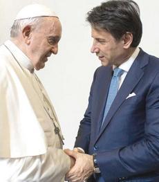 Conte con Bergoglio