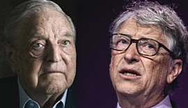 George Soros e Bill Gates