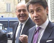 Zingaretti e Conte