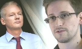 Assange e Snowden