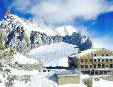 Monte Bianco e Rifugio Torino