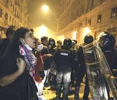 Proteste e Napoli