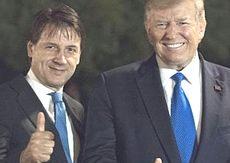 Conte con Donald Trump