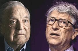 George Soros e Bill Gates