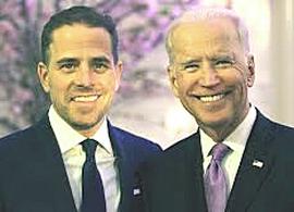 Hunter Biden con il padre