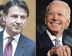 Conte e Biden