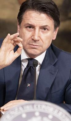 Il primo ministro Conte